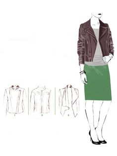 How To Wear a Leather Motorcycle Jacket - Leather Jackets For Women - Redbook