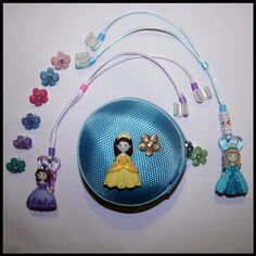 Princesses personalised hearing package for deaf children's hearing aids/cochlear implants