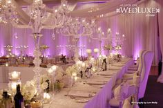 WedLuxe: ultra-luxe decor
