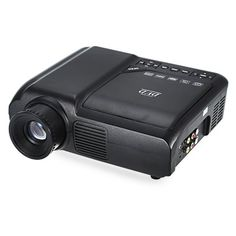 Just US$79.99, buy EPL007 Portable LCD Projector DVD Player Multimedia Home Theater 60 Lumens 320 x 240 Native Resolution online shopping at GearBest.com Mobile.