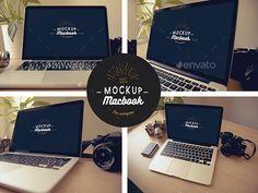 Macbook Mock-Up #design Download: http://graphicriver.net/item/macbook-mockup/11956329?ref=ksioks
