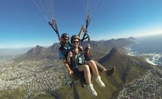 This Tandem-Paragliding Ride is the Best Way to See Cape Town City Pass, Paragliding, Tandem, Cape Town, Mount Rainier, South Africa, Attraction, Things To Do, Activities