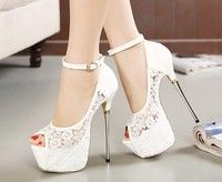 Heels: 16cm Platform:6cm  SIZE EXCHANGE: US4=EU35=UK2=AU4,  US5=EU36=UK3=AU5,  US6=EU37=UK4=AU6,  US