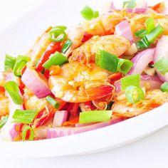 Shrimp and Scallion Stir-Fry-Calories: 150Yield: 4 serving(s)