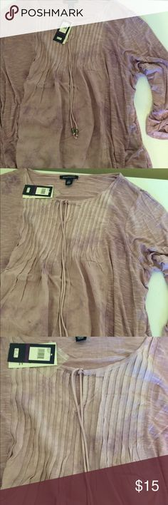 Bandolino light weight pullover top. Various sizes. Purple. Light Very cute. Super soft flowing top. Lightweight. Bandolino Tops Blouses