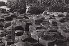 Albert Renger-Patzsch, Basalt in Northern Ireland, 1961