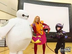 Church Youth Ministry Hosts Big Hero 6 Movie Night