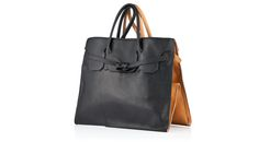 Slow and Steady Wins The Race FourSided Rectangular Leather Bag