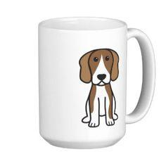 Beagle Dog Cartoon Mug
