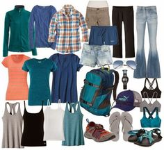 Carry On Couture: Outdoorsy Vacation Packing List
