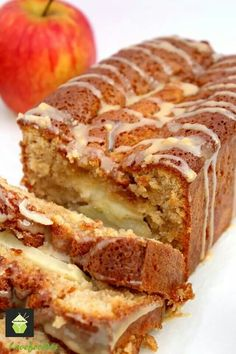 Caramel apple loaf