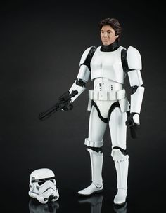 A9389 Han Solo Stromtrooper Official Images Star Wars Black Series 6-Inch Figures Revealed at SDCC 2014