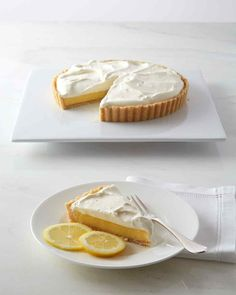Atlantic Beach Tart. This recipe is from MarthaStewart.com and I'm looking forward to trying it...not just because it's lemon, but I want to try that saltine crust!