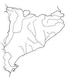 Mapa Físic De Catalunya Mut.Las 9 Mejores Imagenes De Projecte Catalunya Cs Rius De