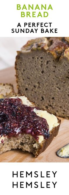 Everyone loves banana bread, it makes a sweet and satisfying breakfast or snack. Slather with butter and a dollop of homemade chia jam for a real tea-time treat. As seen in our Channel 4 series Eating Well with Hemsley + Hemsley.