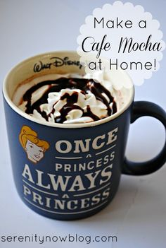 Cafe Mocha recipe- this sounds doable! super excited!