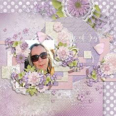 Layout using {Like A Dream} Digital Scrapbook Kit by Eudora Designs available at PBP https://www.pickleberrypop.com/shop/manufacturers.php?manufacturerid=173
