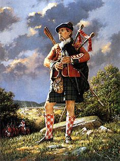 Robert Griffing - Major Grant's Piper  77th Highland Regiment