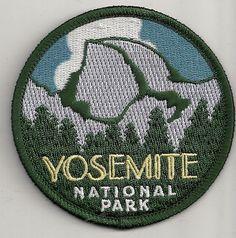 SOUVENIR TRAVEL PATCH -YOSEMITE NATIONAL PARK