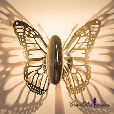 Butterfly Wall Sconce Modern Lighting, Lighting Design, Small Kitchen Layouts, Indoor Wall Sconces, Photo Packages, Butterfly Wall, Pendant Lamp, Wall Lights, Bulb