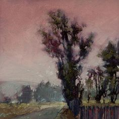 Sun Down; 2009, Oil on Panel 5 x 5 in.