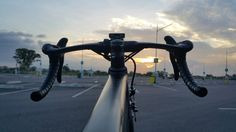 Sunset with my bike