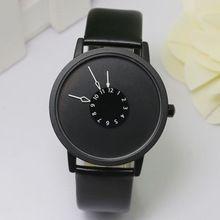 Paidu reloj de cuero relojes mujer vestido reloj de la hora hombres moda Casual Watch Unisex reloj de cuarzo relogio relojes W0706(China (Mainland))