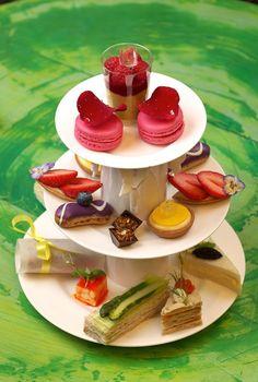 Tiered Treats for Tea