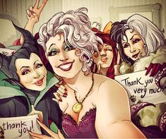 If Your Favorite Disney Characters Had Instagram, They'd Probably Take Selfies Too