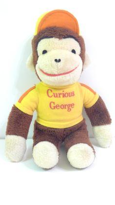 f82b0201c3 Vintage Knickerbocker CURIOUS GEORGE 13