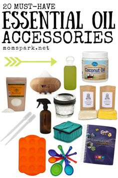 20 Must-Have Essential Oil Accessories!