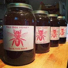 Save the Bees at Red Bee Honey redbee.com