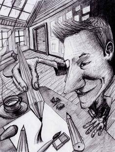 Mein Atelier / Bleistift / 2013