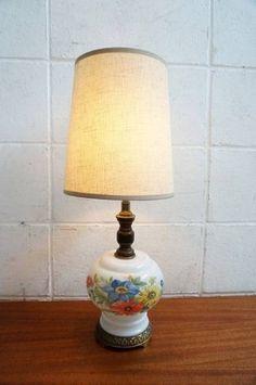 Lamp Shade アンティーク60'SミルクガラスシェードテーブルランプUSA インテリア 雑貨 家具 Antique ¥8400yen 〆06月15日