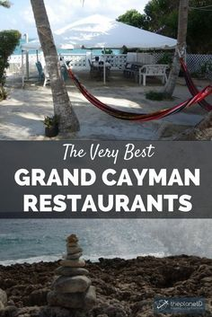 These Grand Cayman restaurants will inspire you to visit the food capital of the Caribbean. From fine dining to casual eats, the Cayman Islands have it all. Caribbean Honeymoon, Caribbean Vacations, Caribbean Cruise, Beach Vacations, Dream Vacations, Honeymoon Trip, Beach Hotels, Beach Resorts, Cruise Vacation