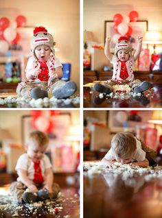 Sock Monkey Themed 1st Birthday | Party and Event Guide (11)