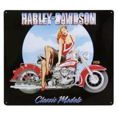 Harley-Davidson® Classic Models Pin-Up Girl Sign