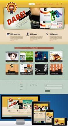Nom : Me Design - CMS : Joomla - Designer : Cerberus