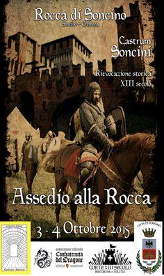 Assedio alla Rocca a Soncino CR http://www.panesalamina.com/2015/41832-assedio-alla-rocca-a-soncino-cr.html