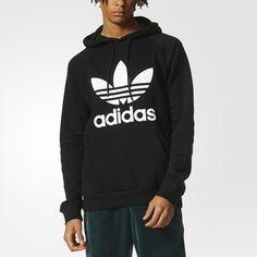 Adidas Originals Folk Women/'s Hoodie Hoody Pullover Adicolor Trefoil Kangaroo