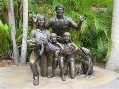 Irwin Family Opens Elephant Sanctuary, Fulfilling One of Steve's Life Goals Steve Irwin Day, Irwin Family, Crocodile Hunter, Elephant Sanctuary, Animal Habitats, Wildlife Conservation, Endangered Species, Life Goals, Statues