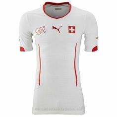 0272ef7c1502b Segunda camiseta del Switzerland baratas para el mundial 2014 Camisetas  Deportivas