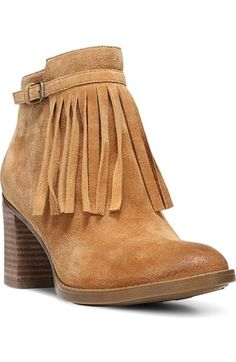 0d3aea2d26f Naturalizer 'Fortunate' Fringe Bootie (Women) available at #Nordstrom Suede  Booties,