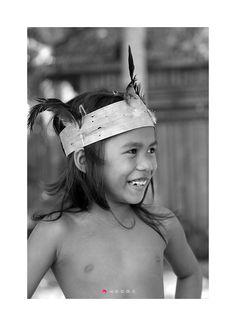 보홀섬 원주민 아이