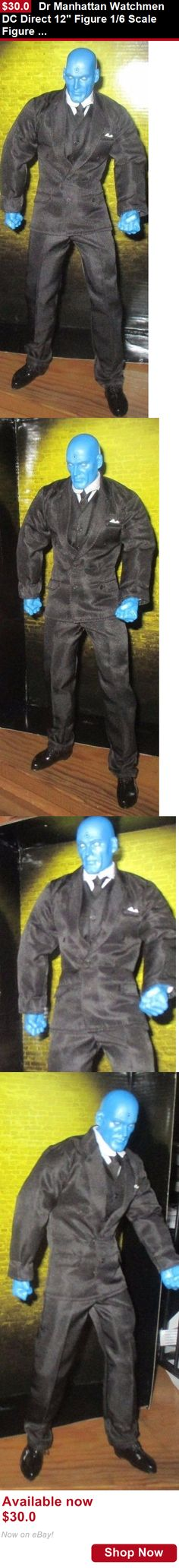 Telescope Mirrors And Prisms: Dr Manhattan Watchmen Dc Direct 12 Figure 1/6 Scale Figure New Loose BUY IT NOW ONLY: $30.0