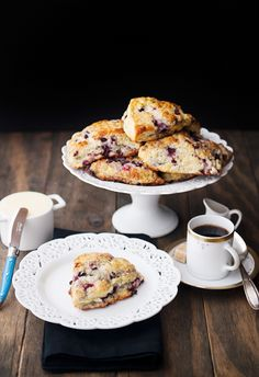 huckleberry scones recipe   use real butter
