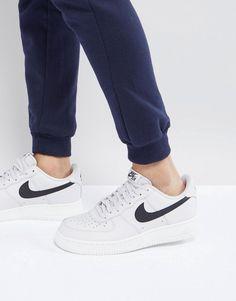0677221c17e969 Nike Air Force 1  07 Sneakers In Grey AA4083-008 at asos.com