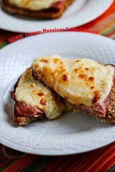 Skinny Croque Monsieur Grilled Cheese