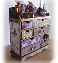 tonic Verona box made into a jewellery box