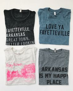Charlie Southern is a t-shirt line perfect for country concerts and sunny summer days. Razorback Shirt, Fayetteville Arkansas, University Of Arkansas, Local Women, Arkansas Razorbacks, Vinyl Shirts, Online Boutiques, Graphic Tees, Sweatshirts